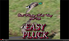 Duck Plucking made easy with this efficient and inexpensive duck plucker